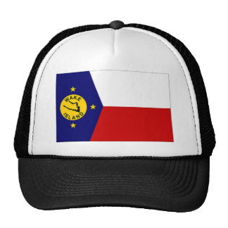 Wake Island Local Unofficial Flag Trucker Hat