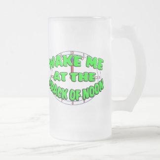 Wake Me At The Crack Of Noon Mugs