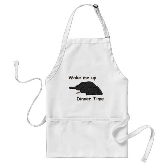 Wake Me Up At Dinner Time Adult Apron