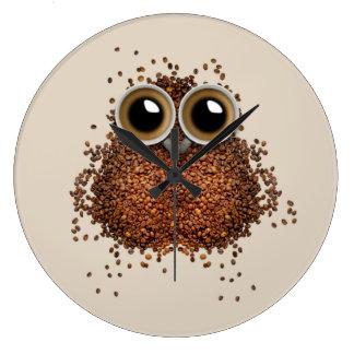 Wake Me Up, Wise Owl Large Clock