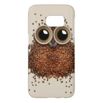 Wake Me Up, Wise Owl Samsung Galaxy S7 Case