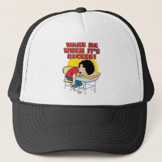 Wake Me When It's Recess Trucker Hat