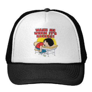 Wake Me When It's Recess Trucker Hat