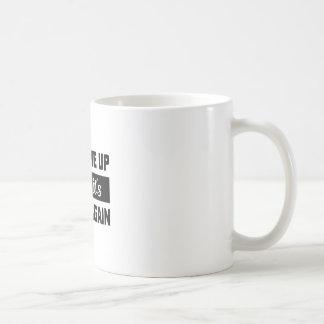 Wake Me When It's Warm Coffee Mug