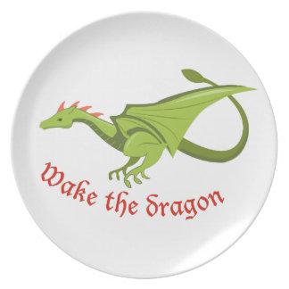 Wake The Dragon Dinner Plate