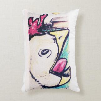 Wake the farm pillow accent pillow