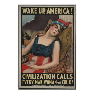 Wake Up-1917 poster