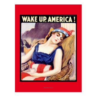 WAKE UP AMERICA! #2 POSTCARD