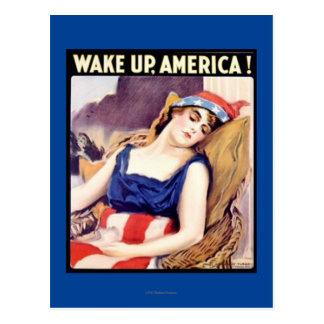WAKE UP AMERICA! #3 POSTCARD