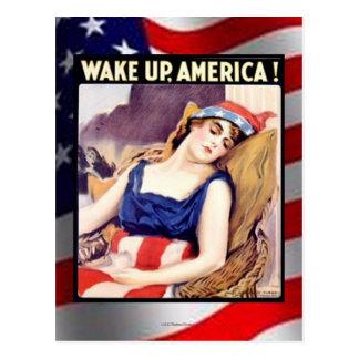 WAKE UP AMERICA! #4 POSTCARD
