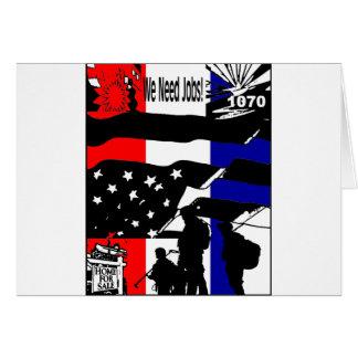 Wake Up America! Card