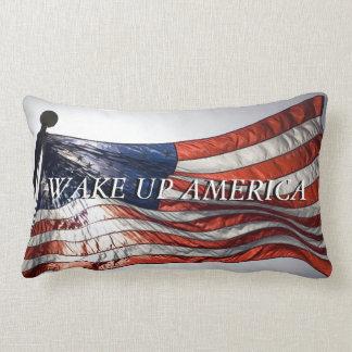 Wake up America Lumbar Pillow