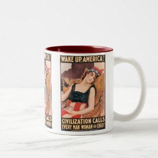 Wake Up America Mug