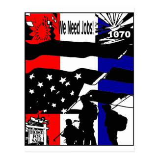 Wake Up America! Postcard