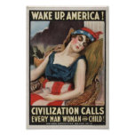 Wake Up America! Poster