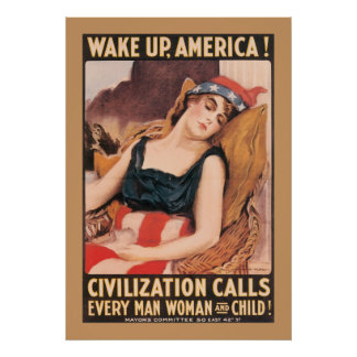 Wake Up America Posters