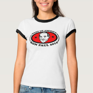 Wake Up America Ron Paul 2012 TEE