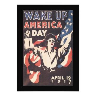 Wake Up America World War II Card