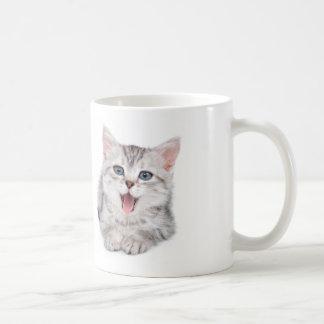 """Wake Up and Feed Me!"" Kitty Mug"