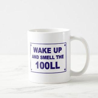 Wake Up and Smell the 100LL Coffee Mug