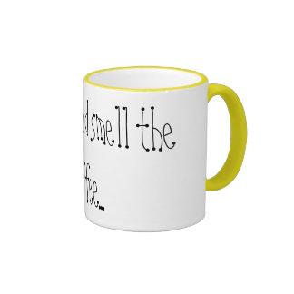 Wake up and smell the coffee... ringer mug