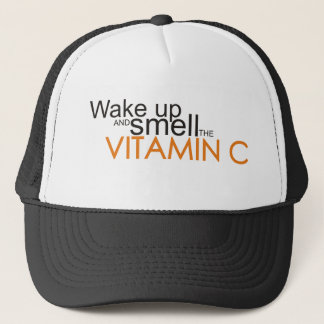 Wake up and smell the Vitamin C Trucker Hat