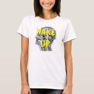 WAKE UP Brain Statement Women's T-Shirt