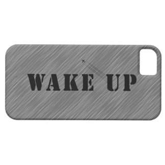 WAKE UP iPhone 5 COVERS