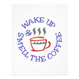 Wake Up Coffee Letterhead