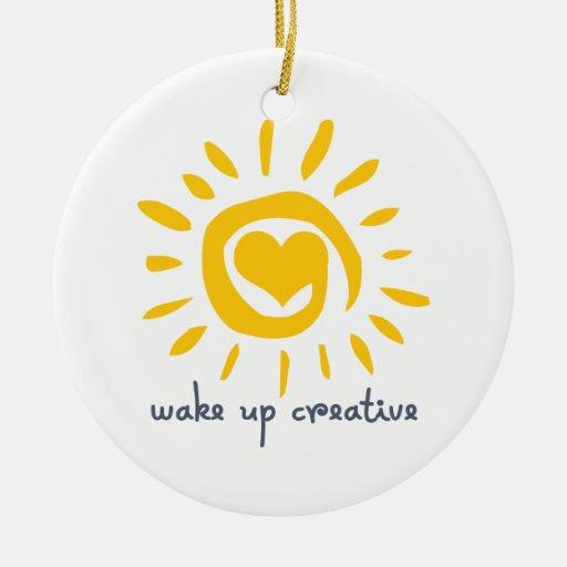 Wake up Creative Christmas Ornament