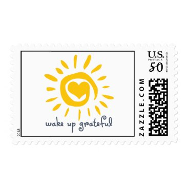 JoyfulTurtle Wake Up Grateful Postage