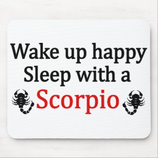 Wake Up Happy Mouse Pad