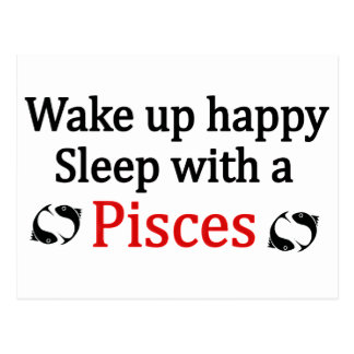 Wake Up Happy Postcard