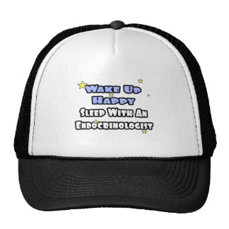Wake Up Happy...Sleep With an Endocrinologist Mesh Hat