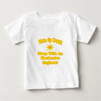 Wake Up Happy ... Sleep With Electronics Engineer Tee Shirts