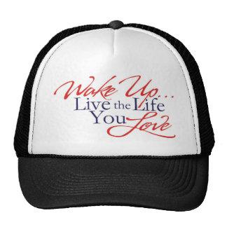 Wake Up Trucker Hats
