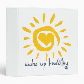Wake Up Healthy Binder