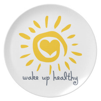 Wake Up Healthy Dinner Plate