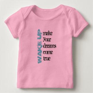 Wake Up Infant Long Sleeve Baby T-Shirt