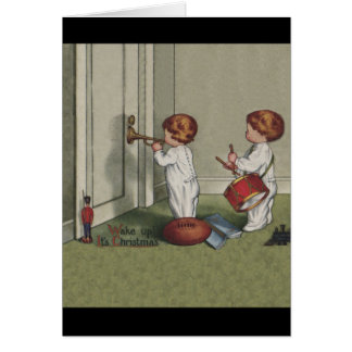 Wake up It's Christmas Greeting Cards