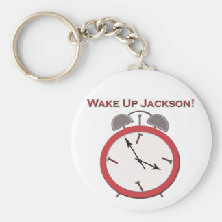 WAKE UP JACKSON KEYCHAIN