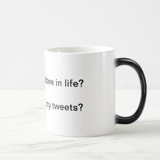 Wake up joke magic mug