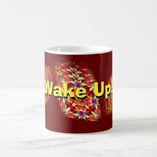 Wake Up! -- Kaleidoscope in Motion Coffee Mug