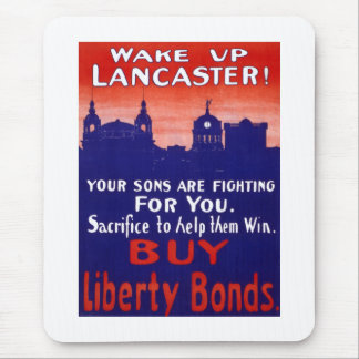 Wake Up Lancaster Mouse Pad