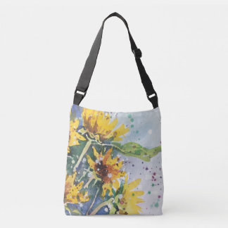 Wake up Little Suzi watercolor print tote bag