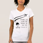 Wake Up Look Up Speak Up For Me Chemtrails Kill T Shirt