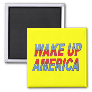 Wake up magnet