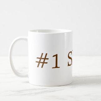 wake up classic white coffee mug