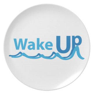 Wake Up Dinner Plate