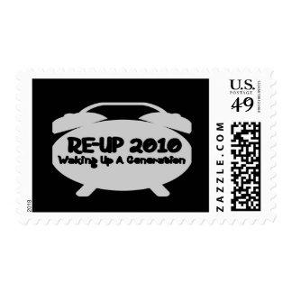 Wake UP Postage Stamp